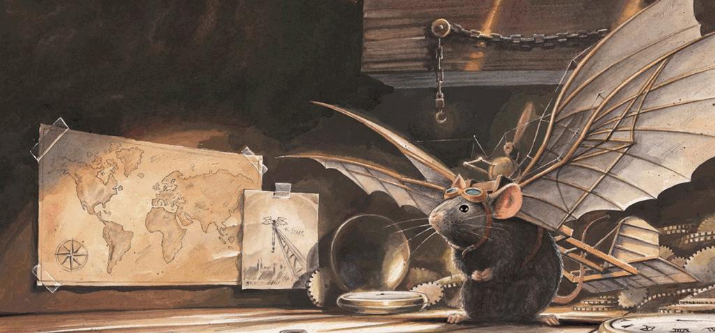 Die abenteuerliche Geschichte einer fliegenden Maus